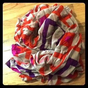 Ruana scarf shawl